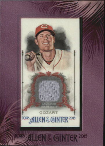 Photo of 2015 Topps Allen and Ginter Framed Mini Relics #FMRZC Zack Cozart
