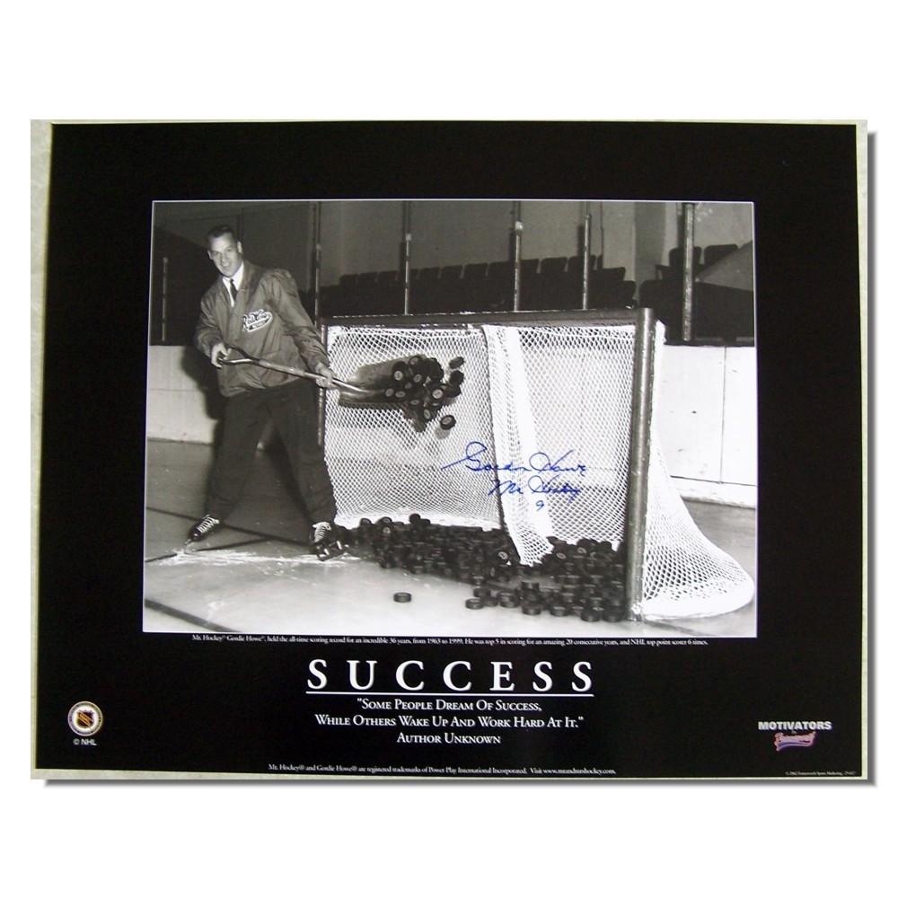 Gordie Howe Autographed Detroit Red Wings 16x20 Photo