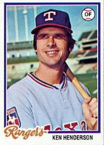Photo of 1978 Topps #612 Ken Henderson