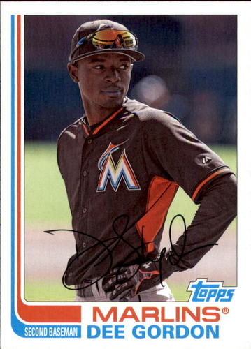 Photo of 2017 Topps Archives #117 Dee Gordon