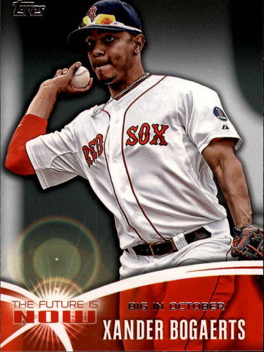 Photo of 2014 Topps The Future is Now #FN40 Xander Bogaerts