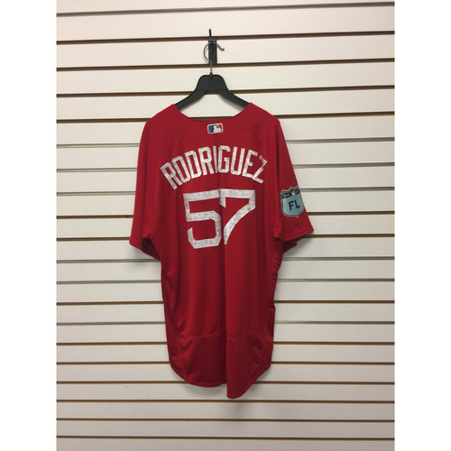 Victor Rodriguez Team-Issued Spring Training Jersey