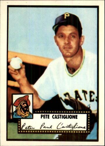 Photo of 1983 Topps 1952 Reprint #260 Pete Castiglione