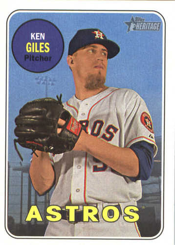 Photo of 2018 Topps Heritage #269 Ken Giles