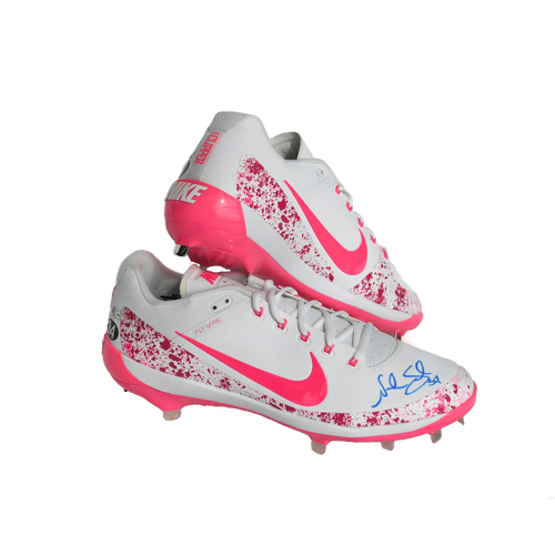 Photo of Amazin' Auction: Noah Syndergaard Autographed Mother's Day Cleats