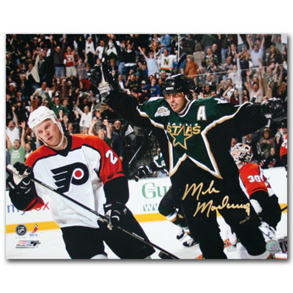 Mike Modano Autographed Dallas Stars 16X20 Photo