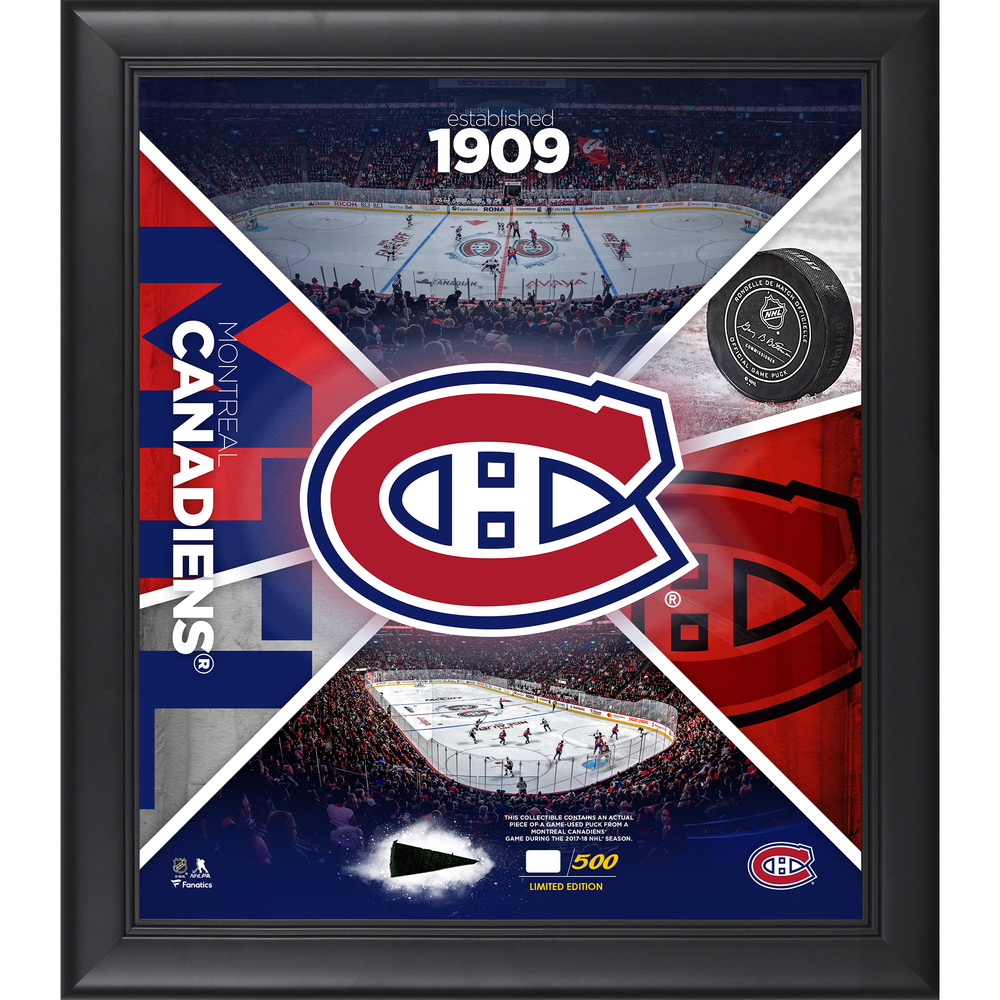 Montreal Canadiens Framed 15