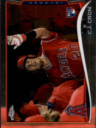 Photo of 2014 Topps Chrome #151 C.J. Cron RC
