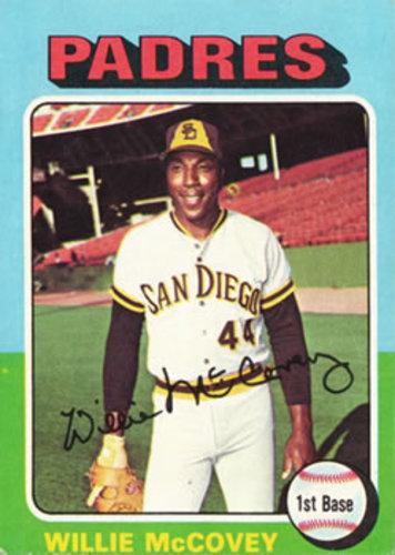 Photo of 1975 Topps #450 Willie McCovey