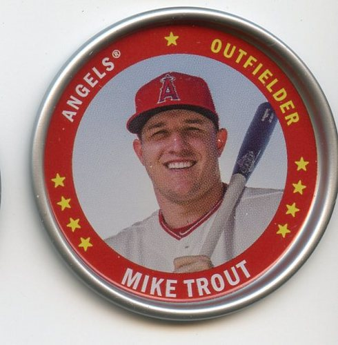 Photo of 2019 Topps Archives Coins #C10 Mike Trout