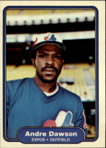 Photo of 1982 Fleer #187 Andre Dawson