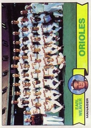 Photo of 1979 Topps #689 Baltimore Orioles CL/Earl Weaver MG