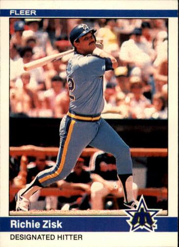 Photo of 1984 Fleer #625 Richie Zisk