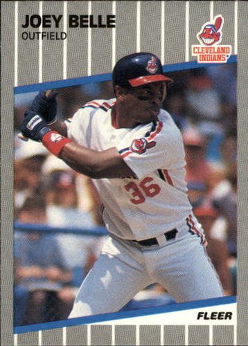Photo of 1989 Fleer Update #25 Albert Belle RC