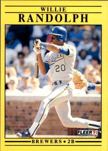 Photo of 1991 Fleer Update #33 Willie Randolph