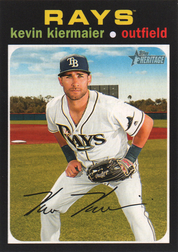 Photo of 2020 Topps Heritage #319 Kevin Kiermaier