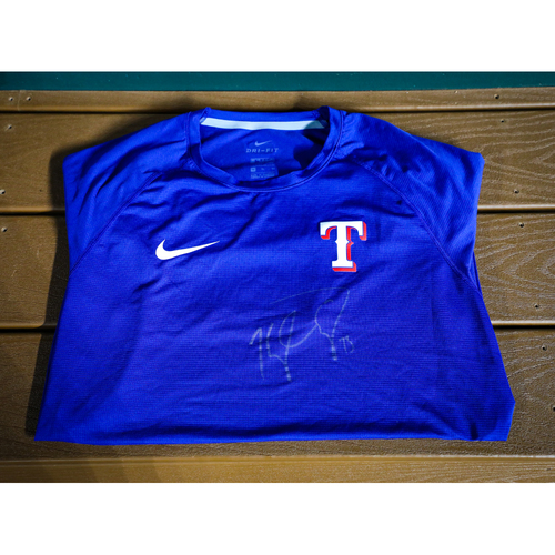 Photo of Kyle Cody Autographed BP Shirt (Used) - NOT MLB AUTHENTICATED - Certificate of Authenticity Included