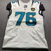 Jaguars - Luke Jockell Game Used Jersey Size 44