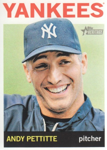 Photo of 2013 Topps Heritage #391 Andy Pettitte