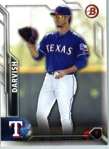 Photo of 2016 Bowman #90 Yu Darvish