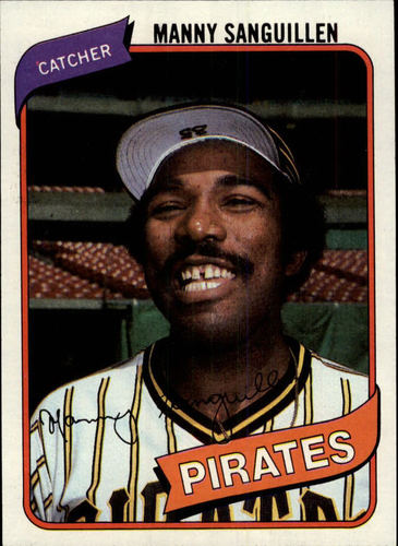 Photo of 1980 Topps #148 Manny Sanguillen