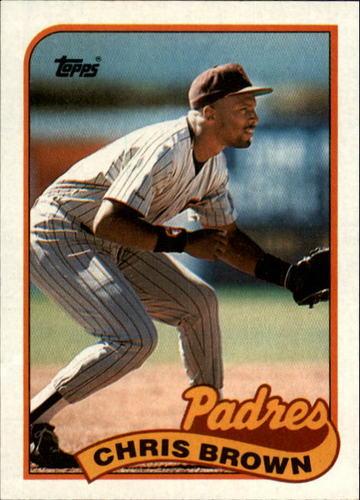 Photo of 1989 Topps #481 Chris Brown