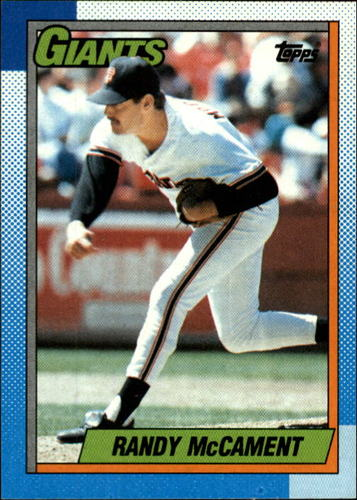 Photo of 1990 Topps #361 Randy McCament RC