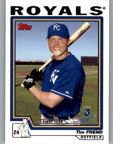 Photo of 2004 Topps #321 Tim Frend FY RC