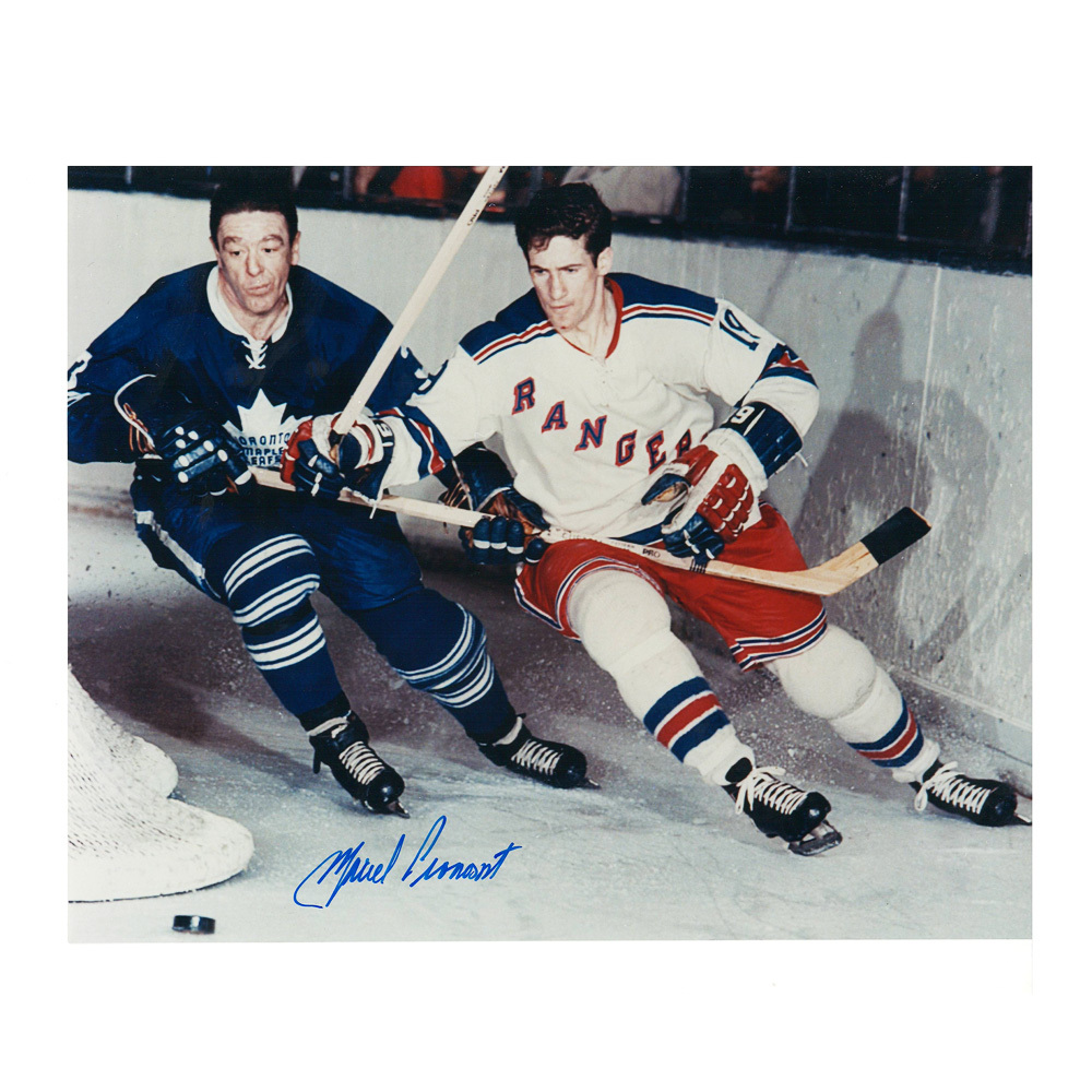 MARCEL PRONOVOST Signed Toronto Maple Leafs 8 X 10 Photo - 70053