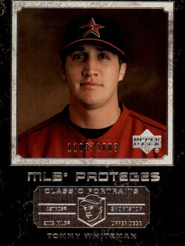 Photo of 2003 Upper Deck Classic Portraits #158 Tommy Whiteman MP