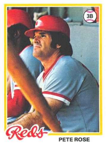 Photo of 1978 Topps #20 Pete Rose DP