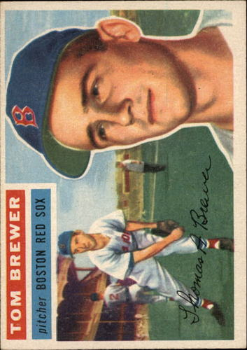 Photo of 1956 Topps #34 Tom Brewer DP