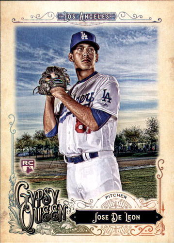 Photo of 2017 Topps Gypsy Queen #225 Jose De Leon RC