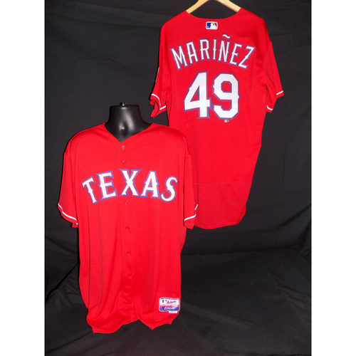 Photo of Jhan Marinez Team-Issued Red Jersey - Size 46
