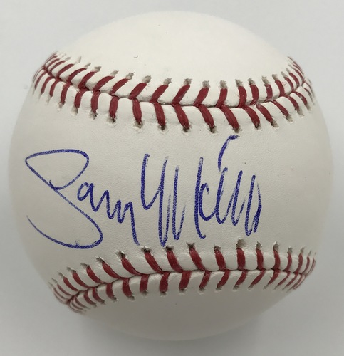 Photo of Gary Matthews Autographed Baseball