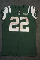 CRUCIAL CATCH - JETS MATT FORTE GAME WORN JETS JERSEY (OCTOBER 15, 2017) SIZE 42
