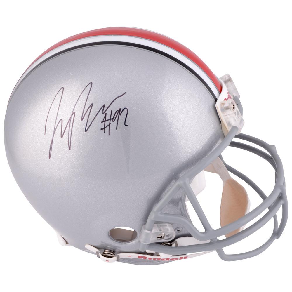 Joey Bosa Ohio State Buckeyes Autographed Riddell Pro Line Helmet