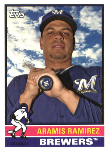 Photo of 2015 Topps Archives #130 Aramis Ramirez