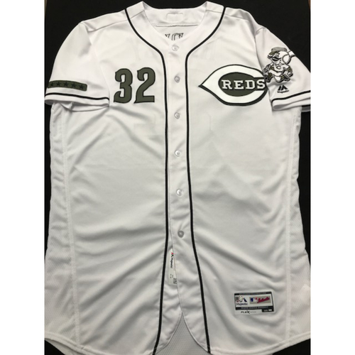 Photo of Matt Harvey - Game-Used - Military Appreciation Jersey (Worn: 2018)