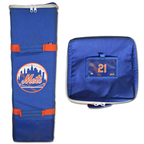 Photo of Todd Frazier #21 - Game Used Bat Bag - Mets vs. Marlins - 9/30/18