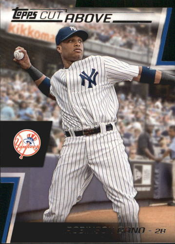 Photo of 2012 Topps A Cut Above #ACA19 Robinson Cano