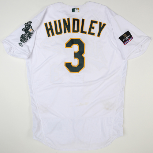 Photo of 2019 Japan Opening Day Series - Game Used Jersey - Nick Hundley, Seattle Mariners at Oakland Athletics -3/21/2019