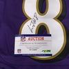 NFL - Ravens Lamar Jackson Signed Jersey Size 44