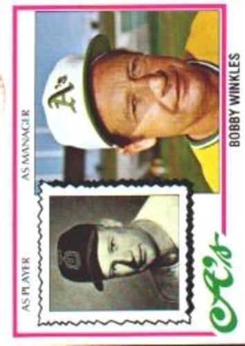 Photo of 1978 Topps #378 Bobby Winkles MG