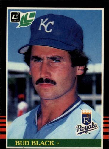 Photo of 1985 Leaf/Donruss #202 Bud Black