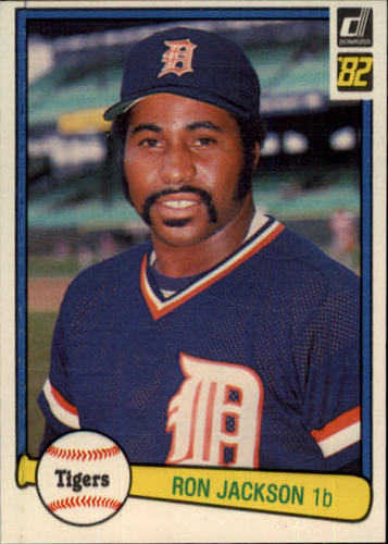 Photo of 1982 Donruss #602 Ron Jackson
