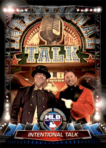 Photo of 2017 Topps MLB Network #MLBN29 Intentional Talk