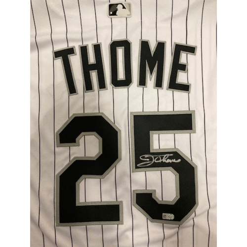 Jim Thome Autographed Jersey
