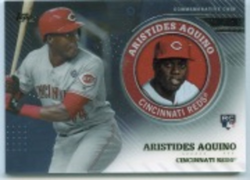 Photo of 2020 Topps Player Medallions #TPMAA Aristides Aquino