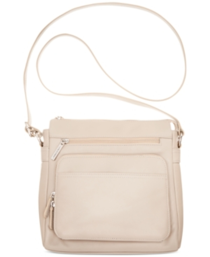 Photo of Giani Bernini Nappa Leather Front Zip Crossbody
